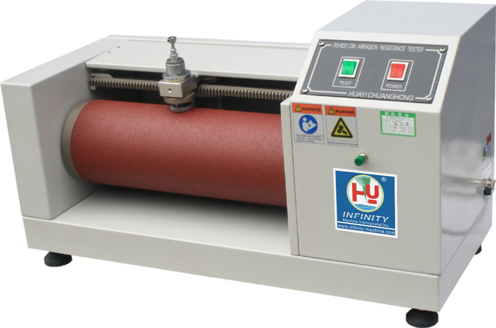 Abrasion Resistant Rubber Rotary Abrasion Tester / Taber Abrasion Machine