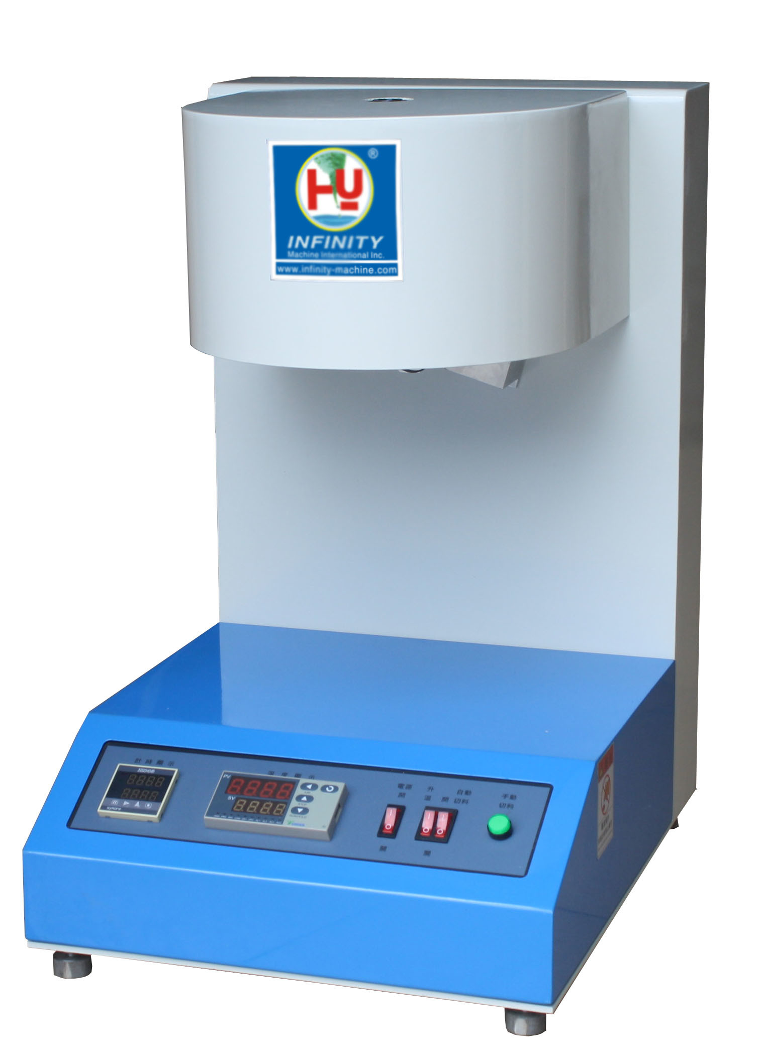 ISO 1133 Plastic Testing Machines / Melt Flow Index Tester Over Temp Protection