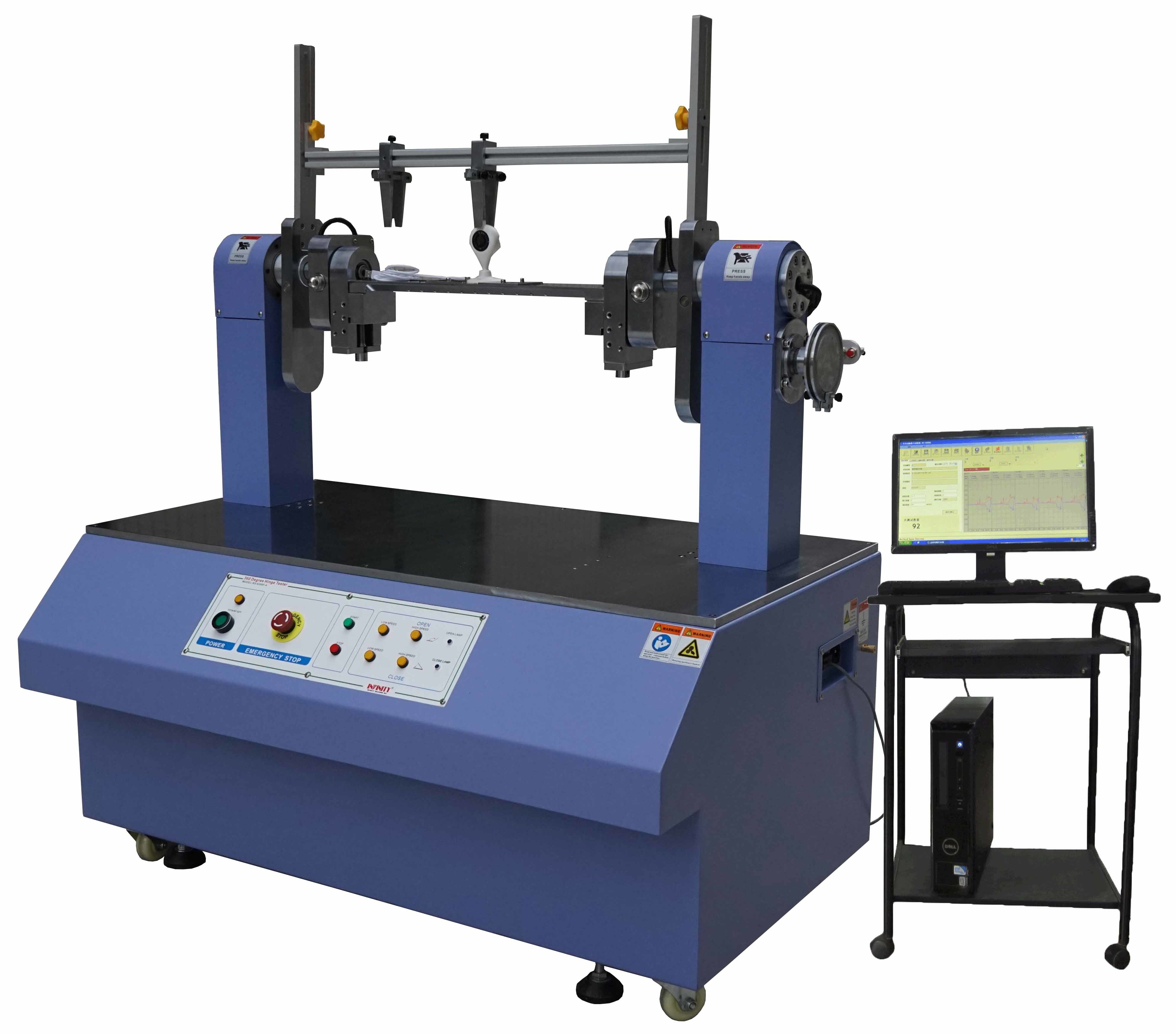 360 Degree Torsion Testing Machine 10 N.m Capacity with Axis Center Device